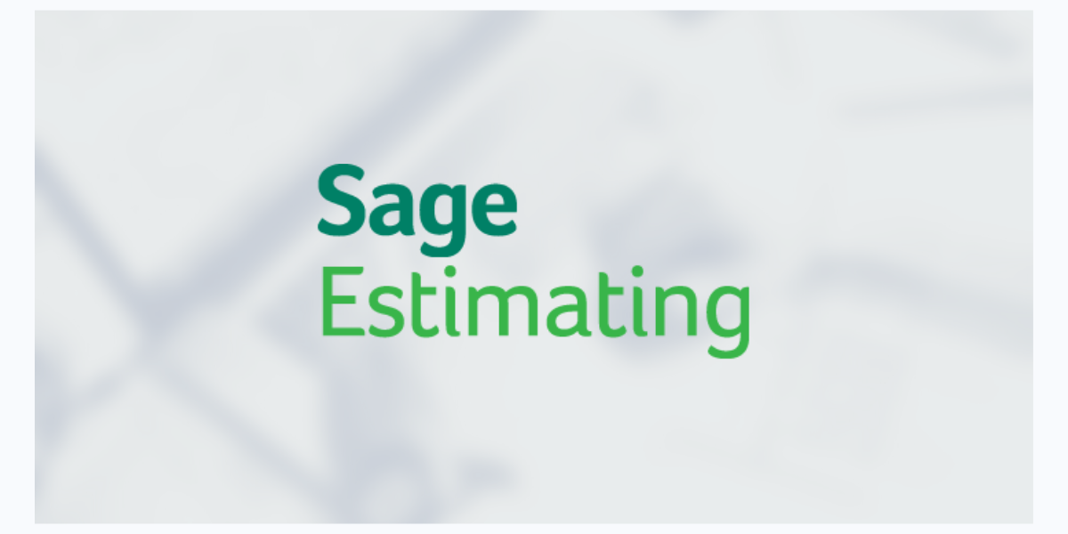 Sage Estimating Version 20.1 Update 3